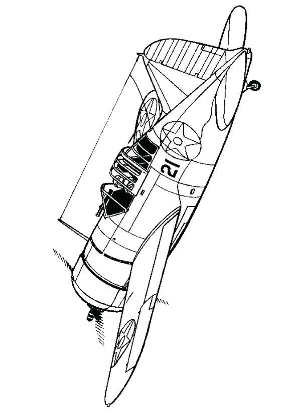 568x822 Sudoku Coloring Page Long Range Bomber Aircraft Free Coloring