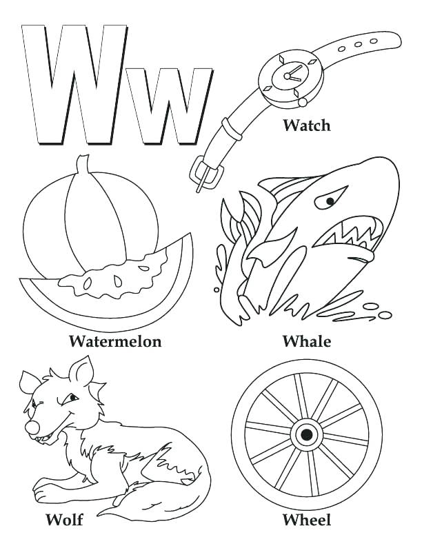 612x792 Coloring Pages Letter B Coloring Page Letter A My A To Z Coloring