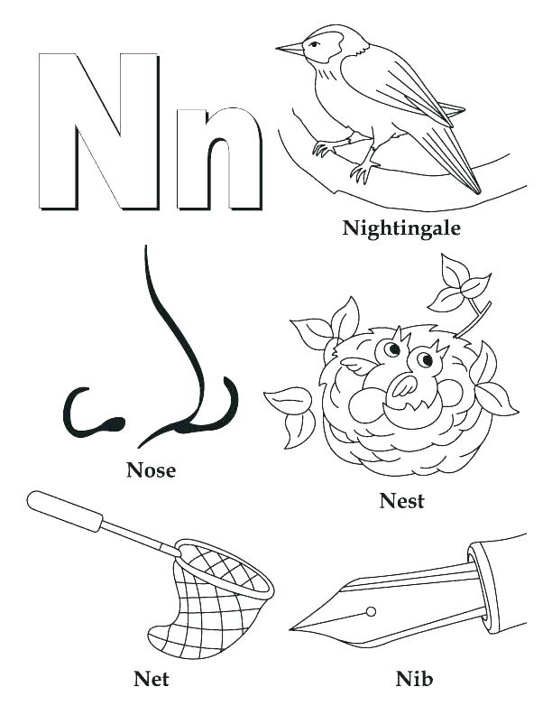 612x792 B Coloring Pages Astonishing Letter B Coloring Pages About Remodel
