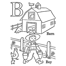 230x230 Top Free Printable Letter B Coloring Pages Online