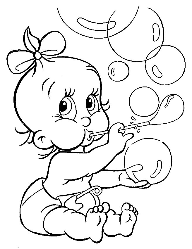 Baby Alive Coloring Pages