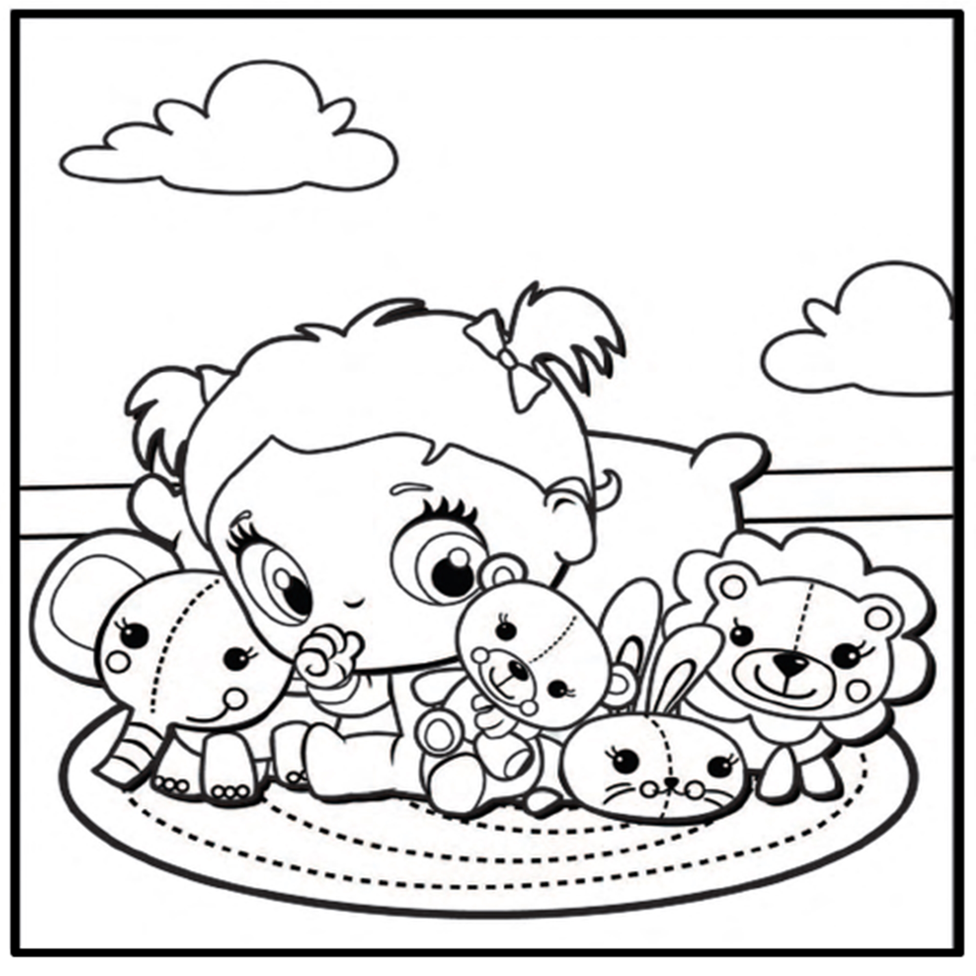 2000x2000 Baby Alive Coloring Pages