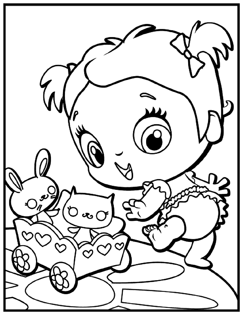 1024x1320 Baby Alive Doll Coloring Page