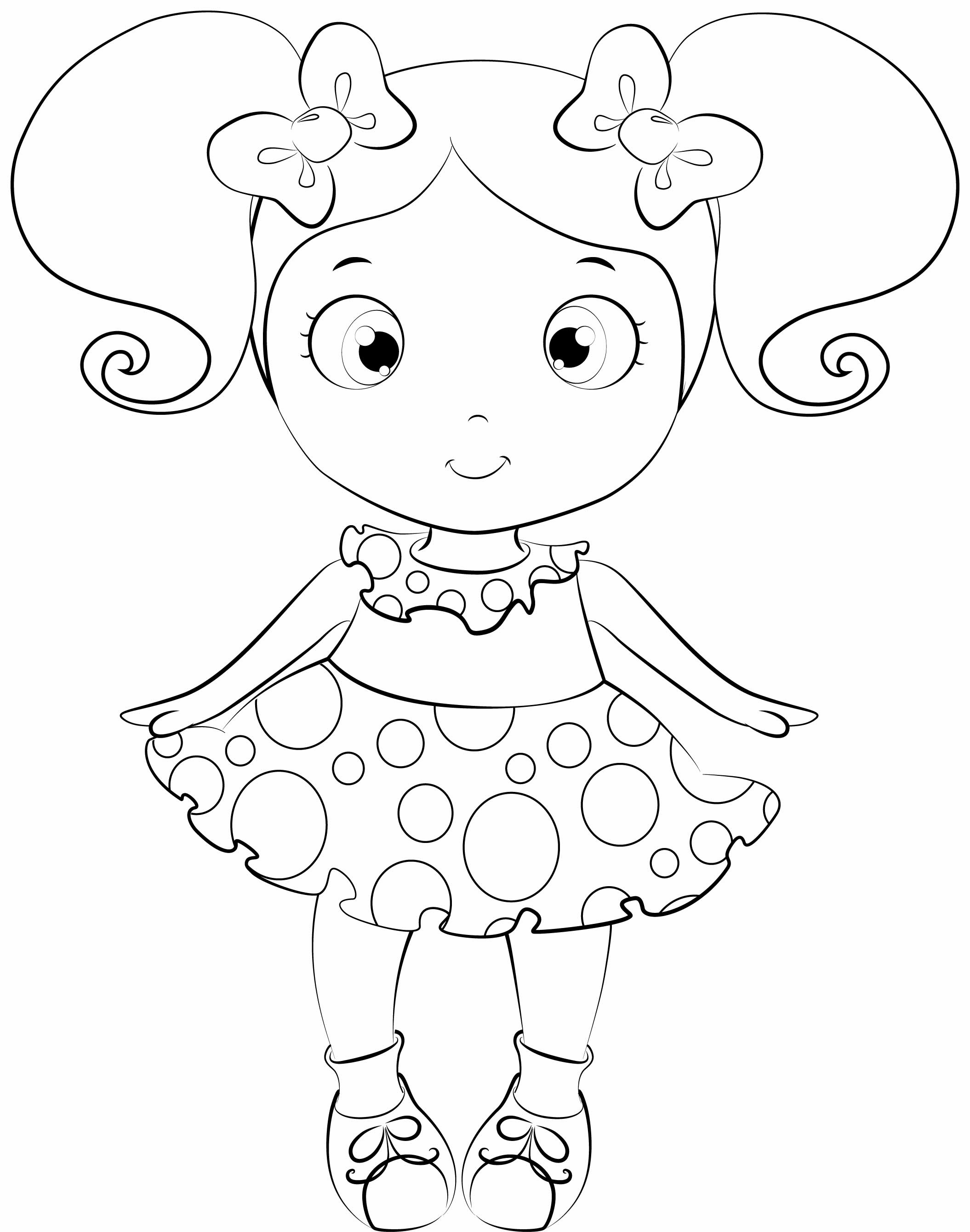 2110x2679 Baby Doll Coloring Page Go Digital With Us A Collection