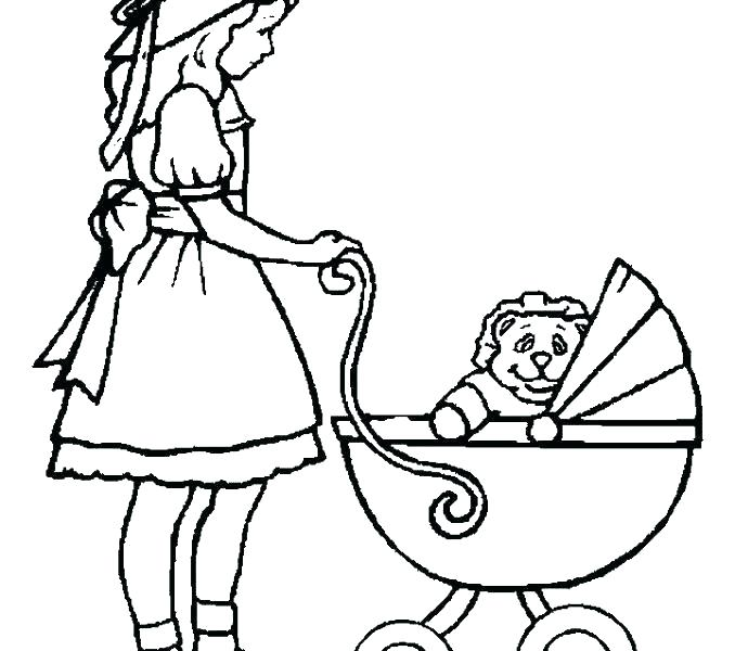 678x600 Baby Doll Coloring Pages Doll Coloring Page Baby Doll Coloring