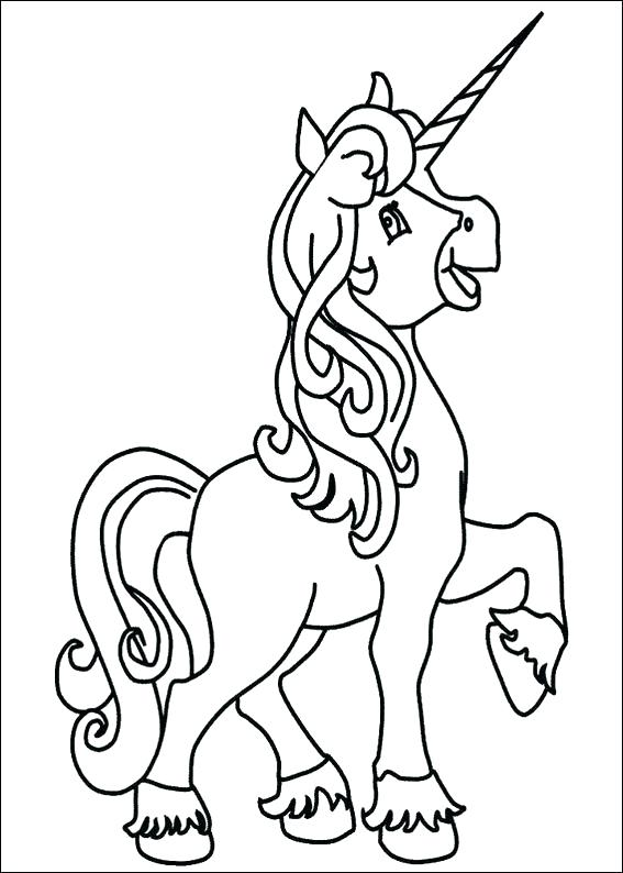 567x794 Baby Unicorn Coloring Pages Printable Unicorn Coloring Pages
