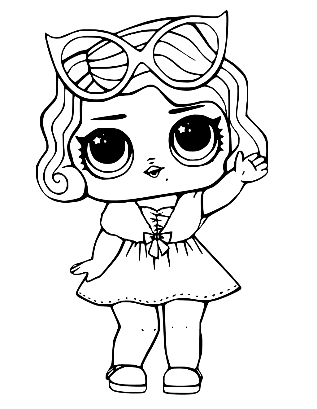 1024x1320 Lol Surprise Doll Coloring Pages Leading Baby Lol Dolls