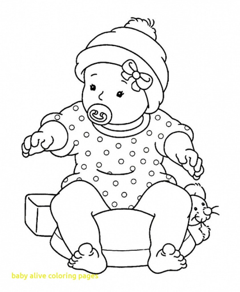841x1024 Baby Alive Coloring Pages