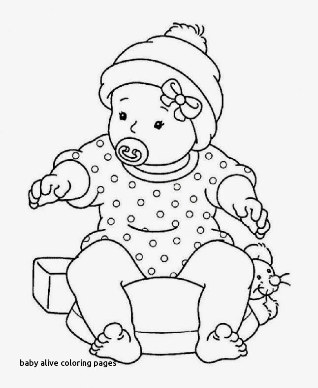 646x787 Baby Alive Coloring Pages
