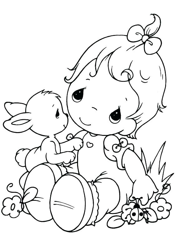 567x794 Precious Moments Angels Coloring Pages Free Precious Moments