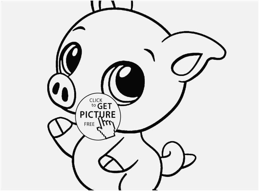 827x609 Printable Animal Coloring Pages Stock Baby Pig Animal Coloring