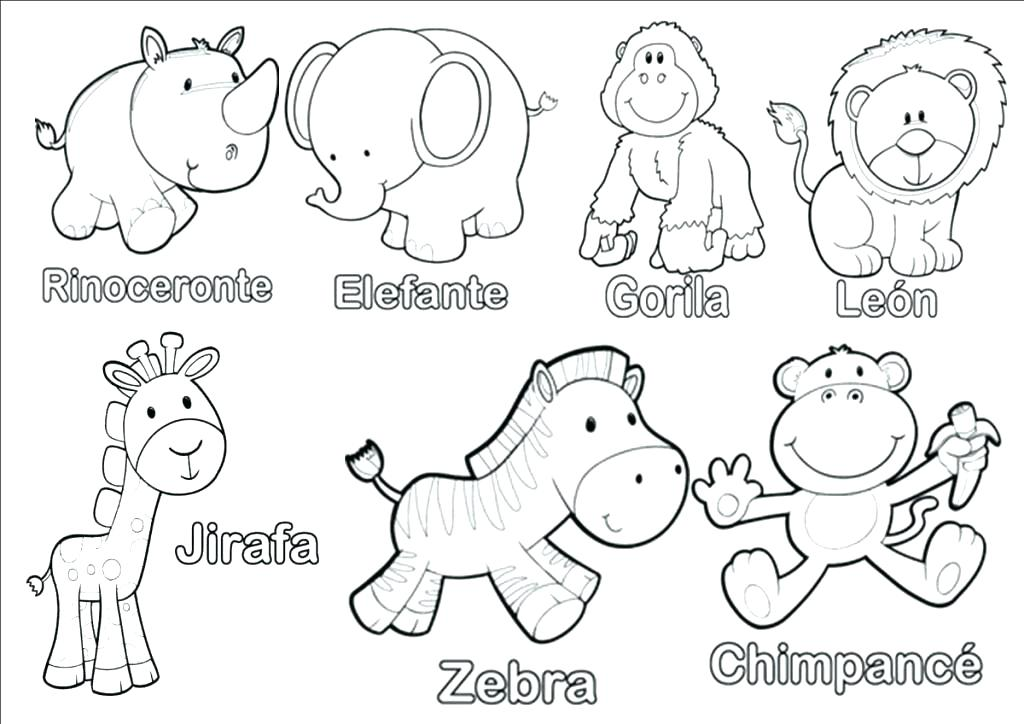 1024x724 Animal Coloring Pages To Print Animal Coloring Pages To Print