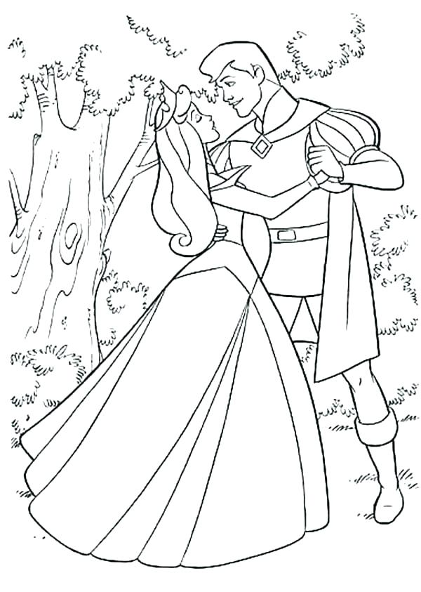 600x843 Aurora Coloring Page Prince Coloring Pages Aurora Coloring Aurora