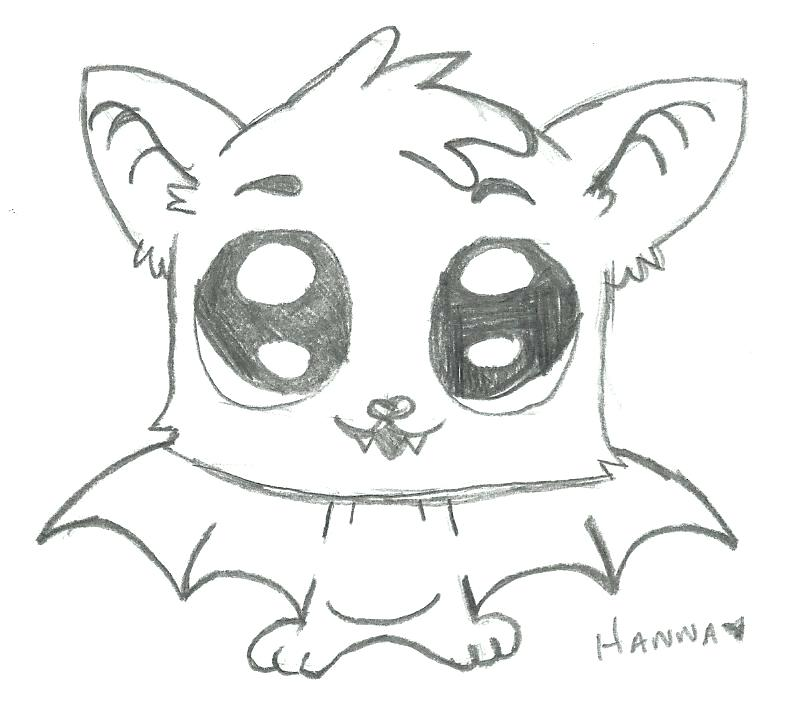 790x724 Cute Bat Drawing At Free For Personal Use Cute Bat Cute Bat