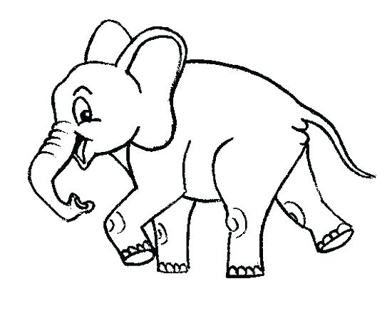 550x450 Also Relaxation Coloring Pages Baby Elephant Color Page