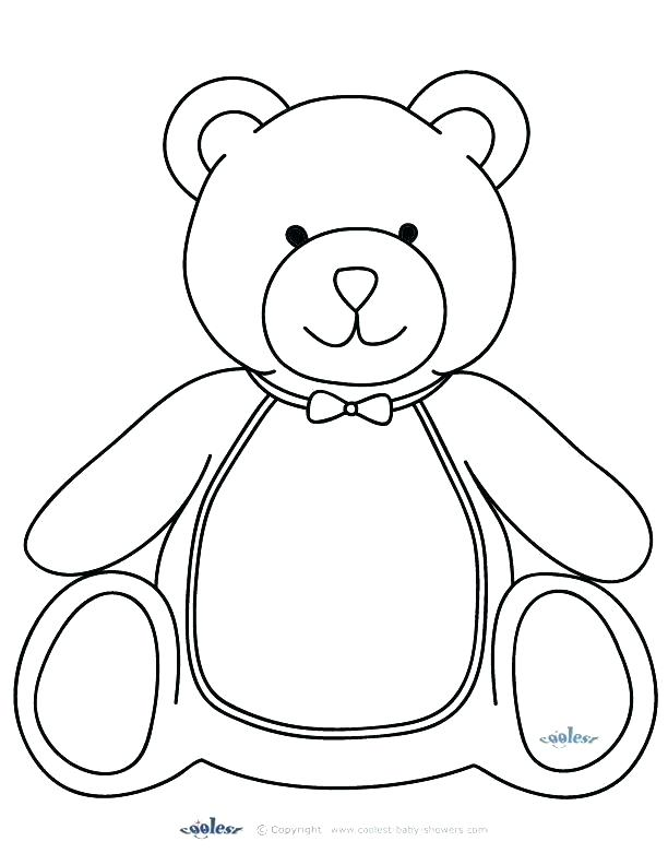 612x792 Panda Bear Coloring Pages Fresh Teddy Bear Coloring Page