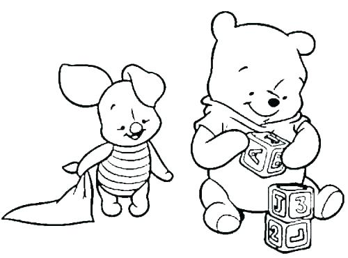 500x370 Bear Coloring Pages And More Of These Coloring Pages Coloring