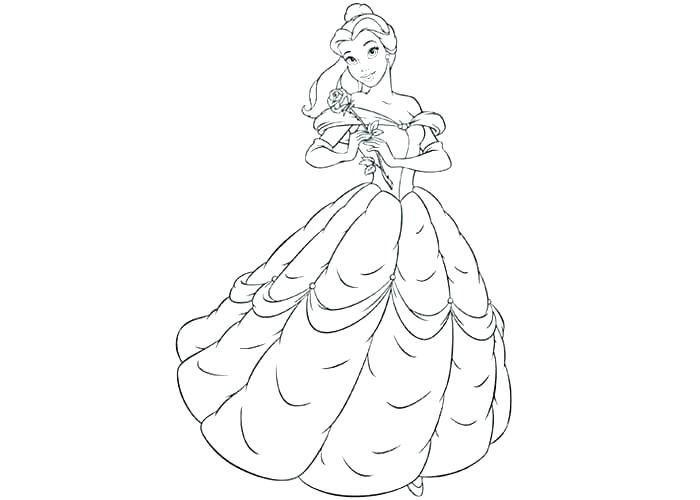 Baby Belle Coloring Pages at GetDrawings.com | Free for ...