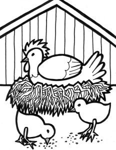 232x300 Best Cock Coloring Pages Images On Children Coloring