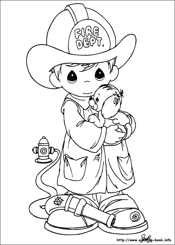 567x794 Precious Moments Angels Coloring Pages Baby Boy Coloring Pages