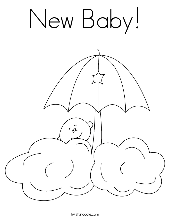 685x886 Baby Boy Coloring Pages
