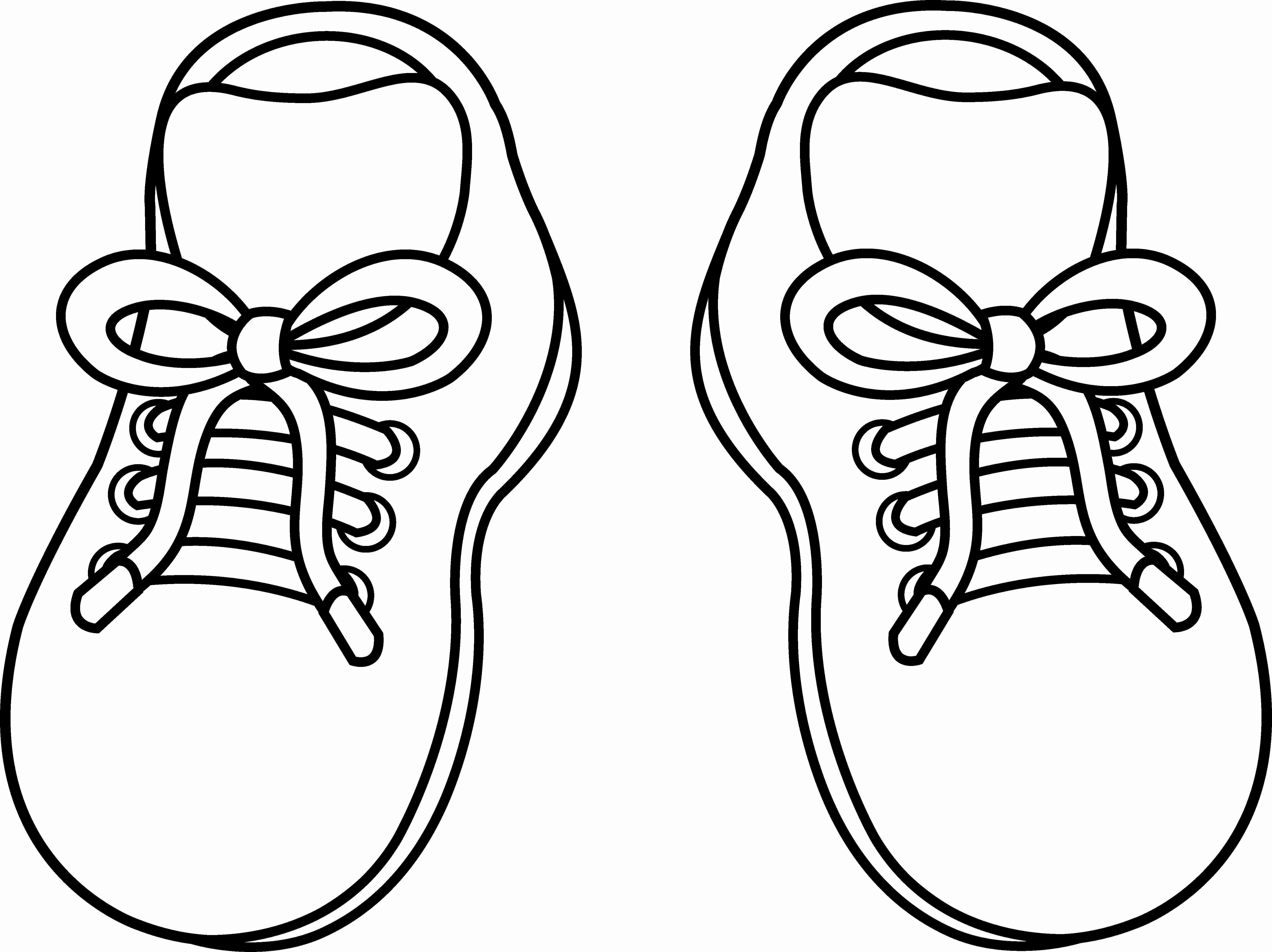 5540x4147 Shoes Coloring Page Free Printable Pages