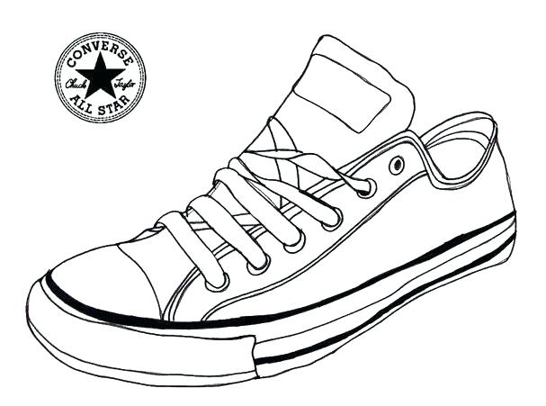 607x451 Shoes Coloring Pages Coloring Page View Larger Air Coloring Pages