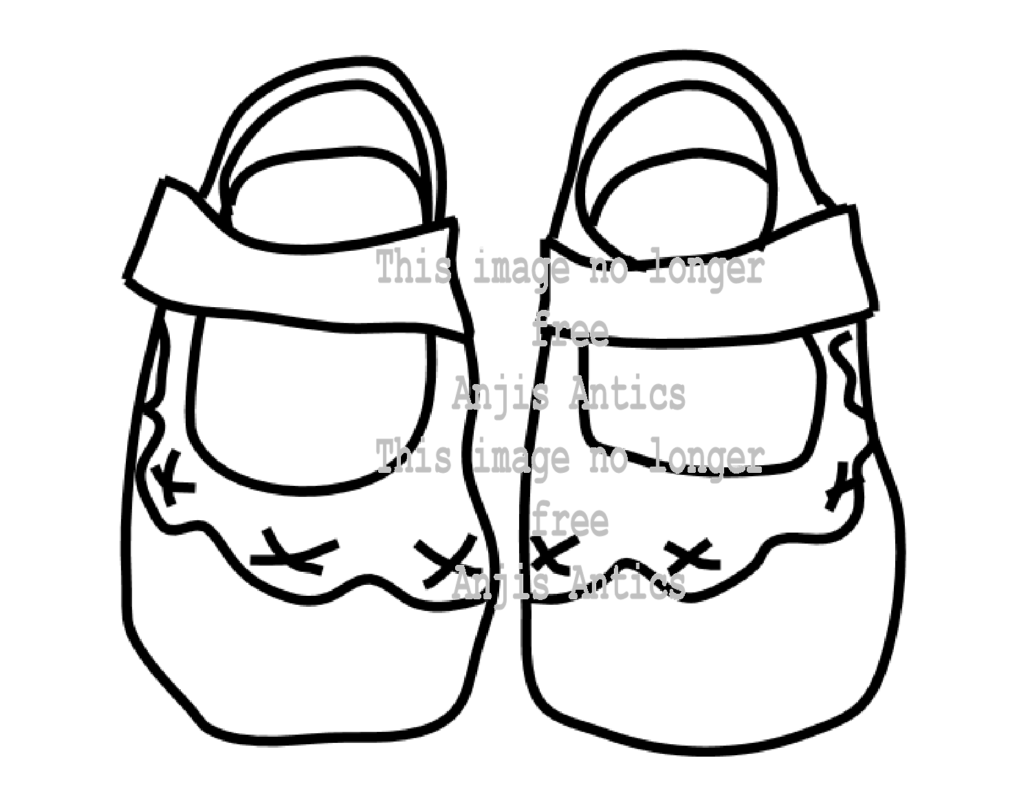 1498x1151 Baby Booties Coloring Pages