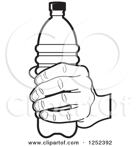 450x470 Water Bottle Coloring Page