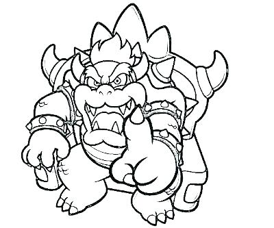 400x333 Bowser Coloring Pages Coloring Page Coloring Page Coloring Pages