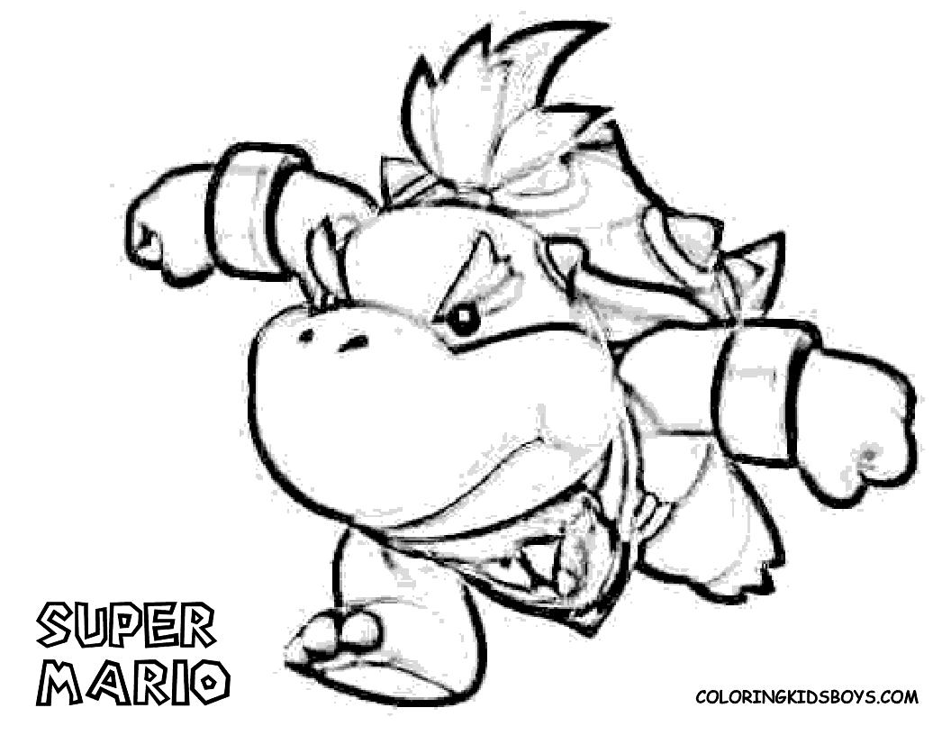 1056x816 Baby Bowser Coloring Pages Coloring Pages