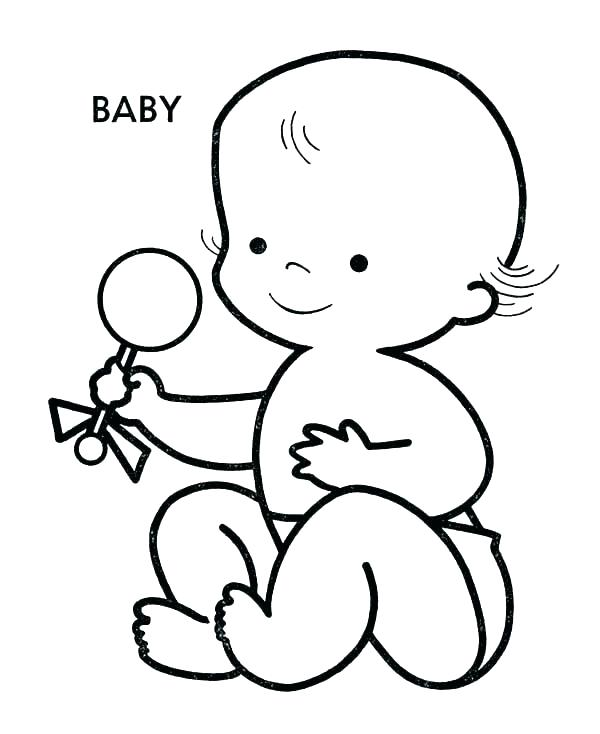Baby Boy Coloring Pages at GetDrawings.com | Free for ...