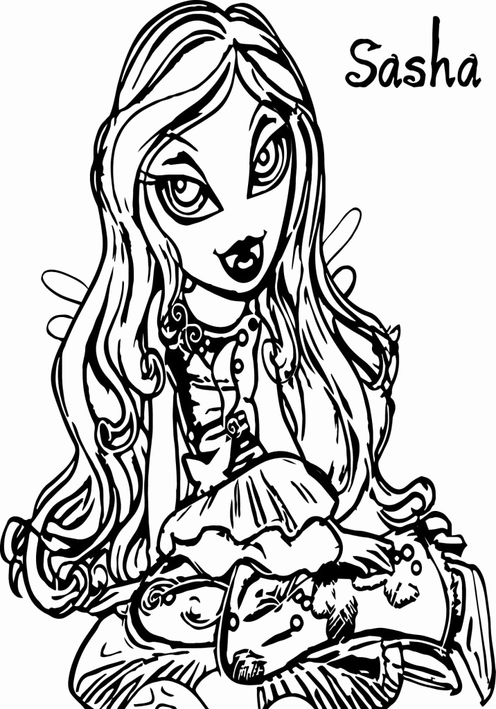 Baby Bratz Coloring Pages at GetDrawings.com | Free for ...
