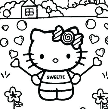 Baby Cat Coloring Pages At Getdrawings Com Free For Personal Use