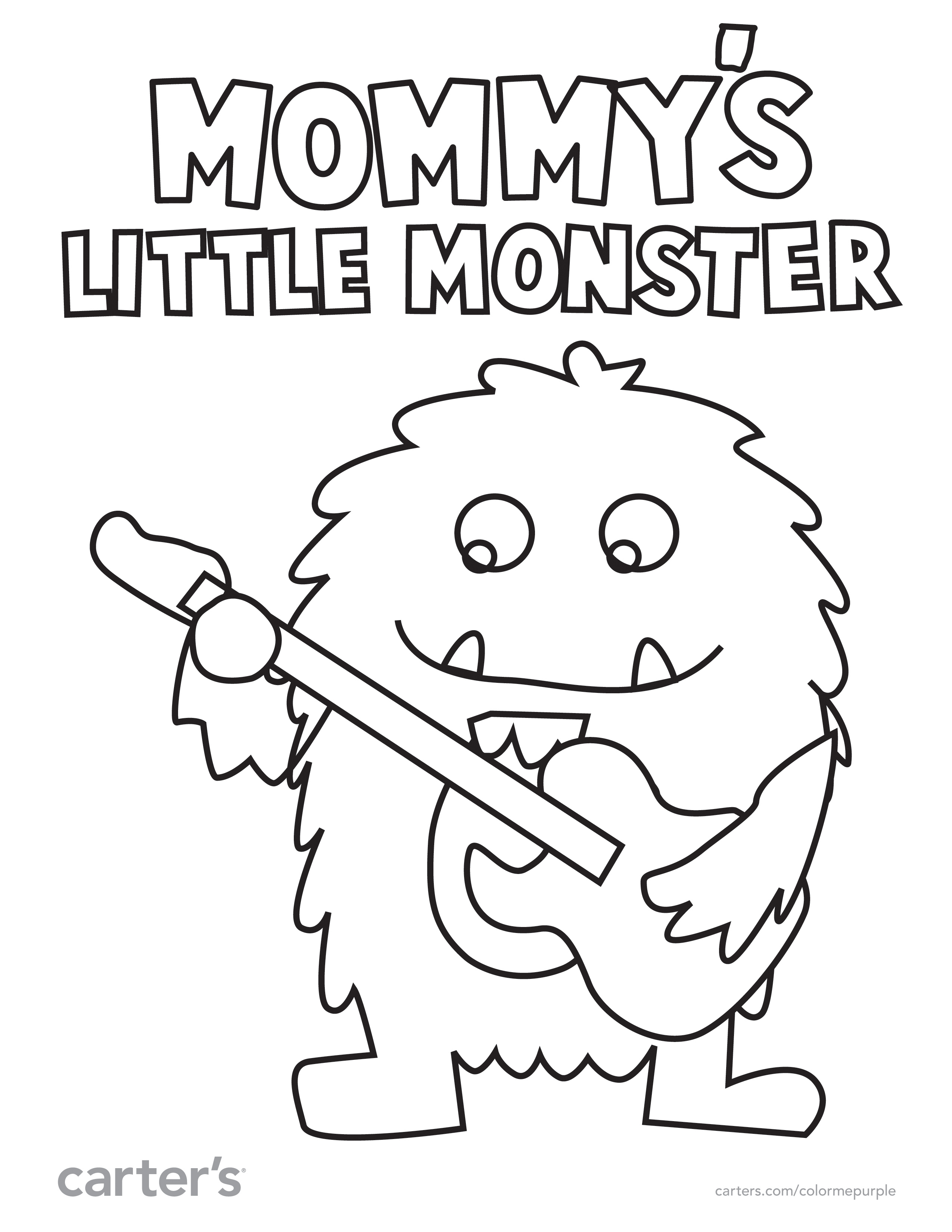 Baby Clothes Coloring Pages at