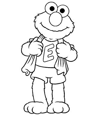 325x385 Butterfly Coloring Sheets Baby Cookie Monster Elmo Coloring Pages