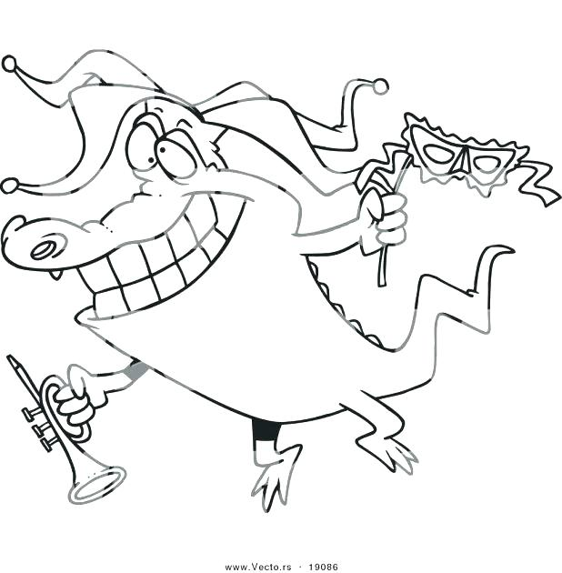 618x630 Coloring Pages Cartoon Saltwater Crocodile Coloring Pages Cartoon