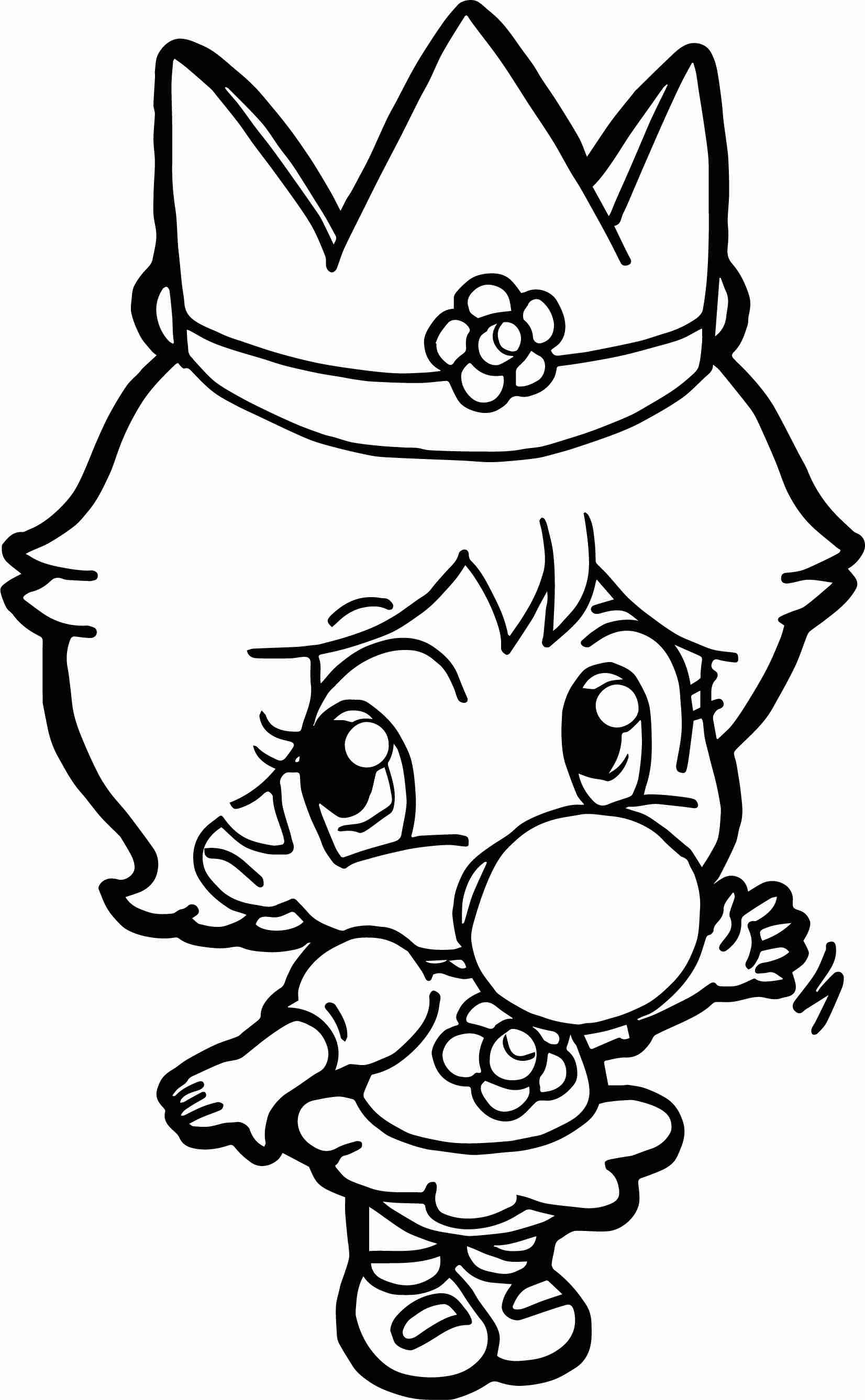 1652x2675 Baby Daisy Coloring Page Wecoloringpage And Mario Pages Olegratiy