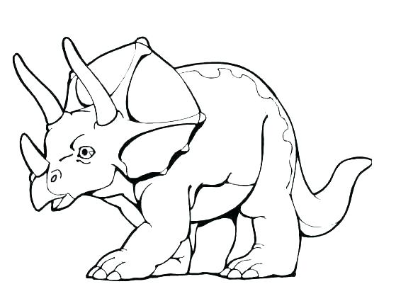 Baby Dino Coloring Pages