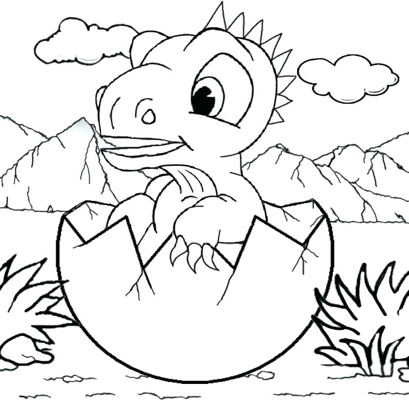 800x800 Stegosaurus Coloring Page Baby Dinosaur Coloring Page Cartoon Baby