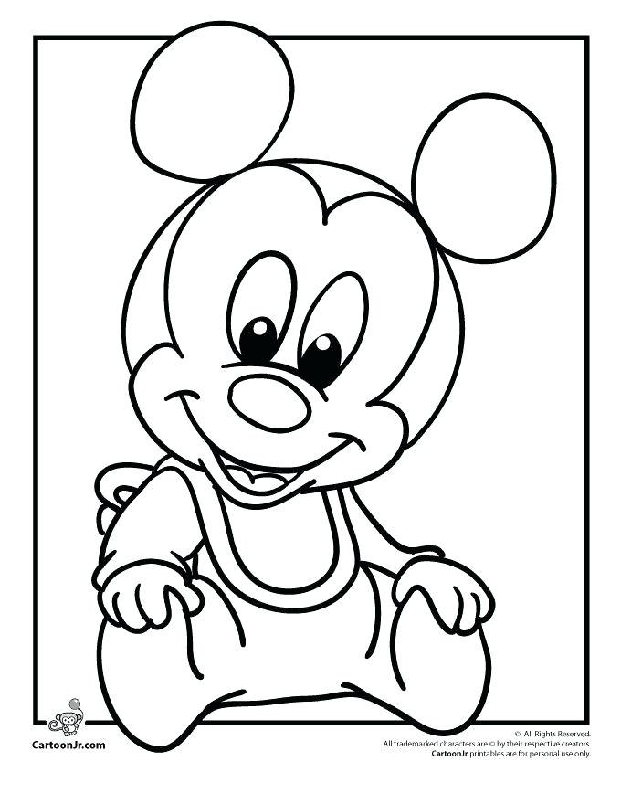 680x880 Baby Minnie Coloring Pages Mickey Mouse Coloring Pages Games Fresh