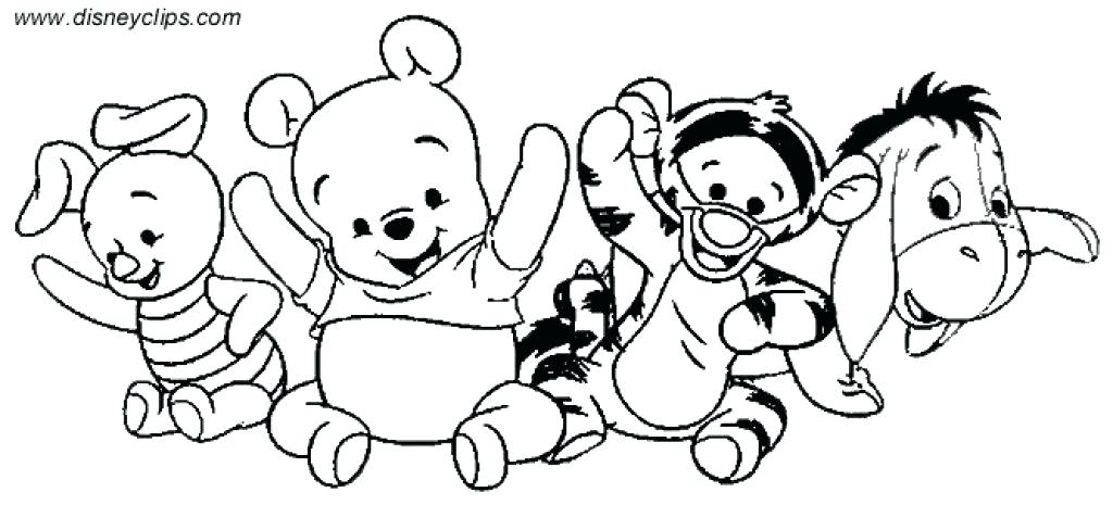 Baby Disney Coloring Pages At Getdrawings Free Download
