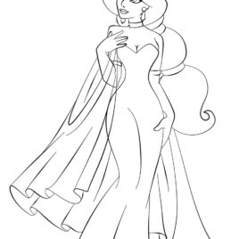 Baby Disney Princesses Coloring Pages At Getdrawings Com Free For