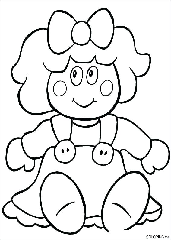 567x794 Baby Doll Coloring Page Doll Coloring Page Baby Doll Coloring