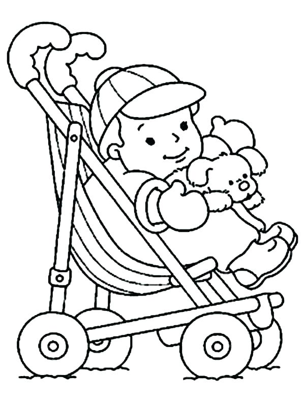 Baby Doll Coloring Page At Getdrawings Com Free For Personal Use