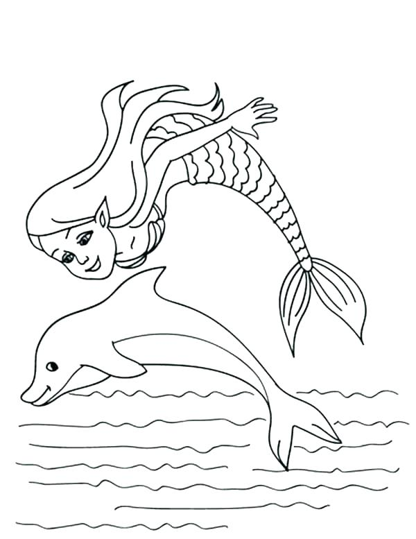 600x777 Cute Dolphin Coloring Sheets Animal Pages For Girls Dolphins