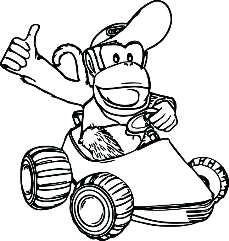728x768 Donkey Kong Coloring Pages Vs Donkey Coloring Pages