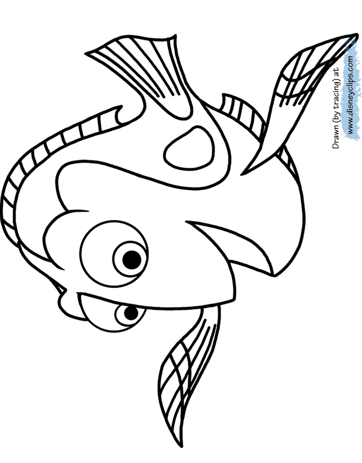 720x920 Dory Coloring Pages Beautiful Finding Dory Coloring Pages Logo
