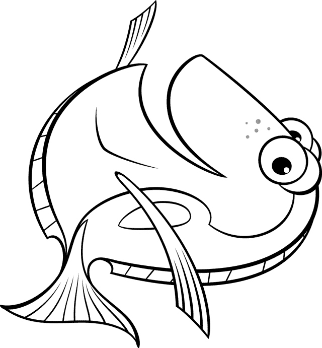 640x691 Dory Coloring Pages Inspirational Free Coloring Pages Of Dory