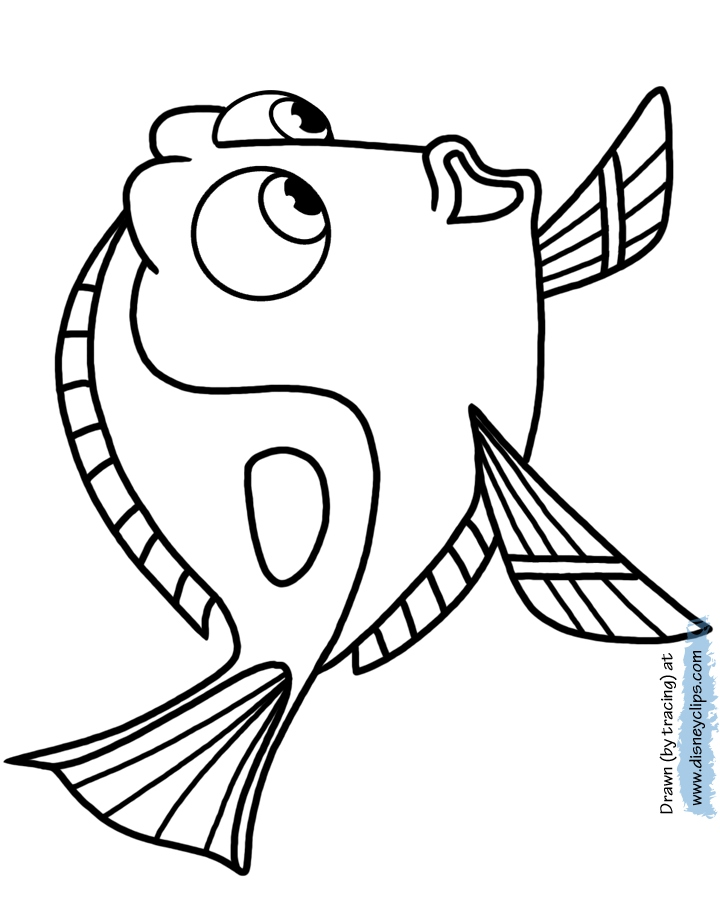 720x920 Dory Coloring Pages New Finding Dory Coloring Pages Logo